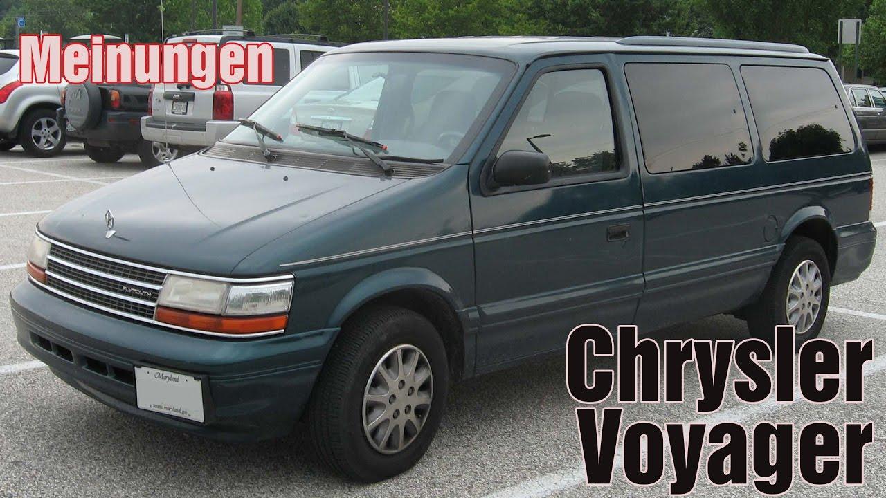 Chrysler Voyager II 1991 - 1995 Minivan #6