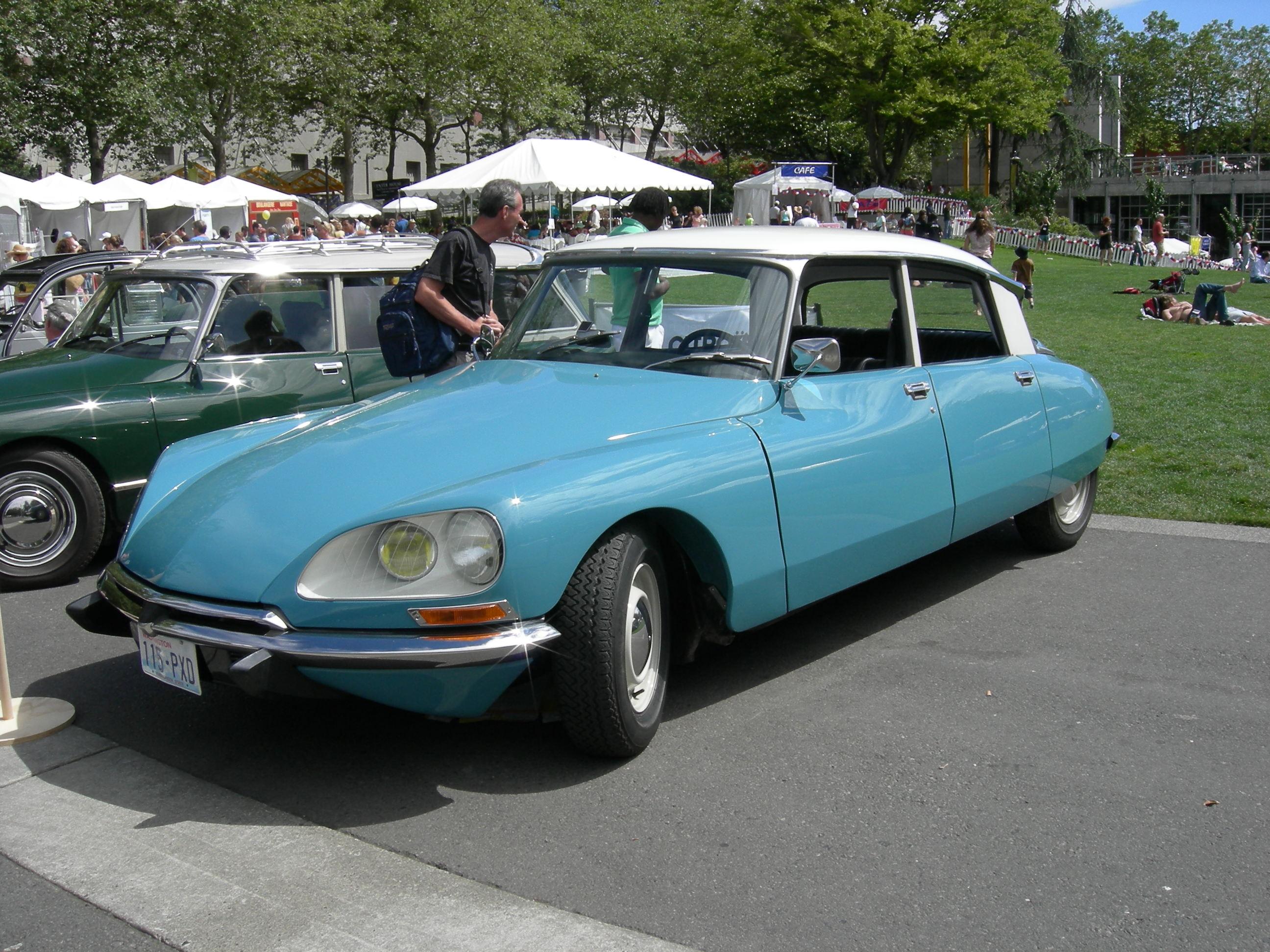 Citroen DS I Restyling 2 1968 - 1975 Sedan #5