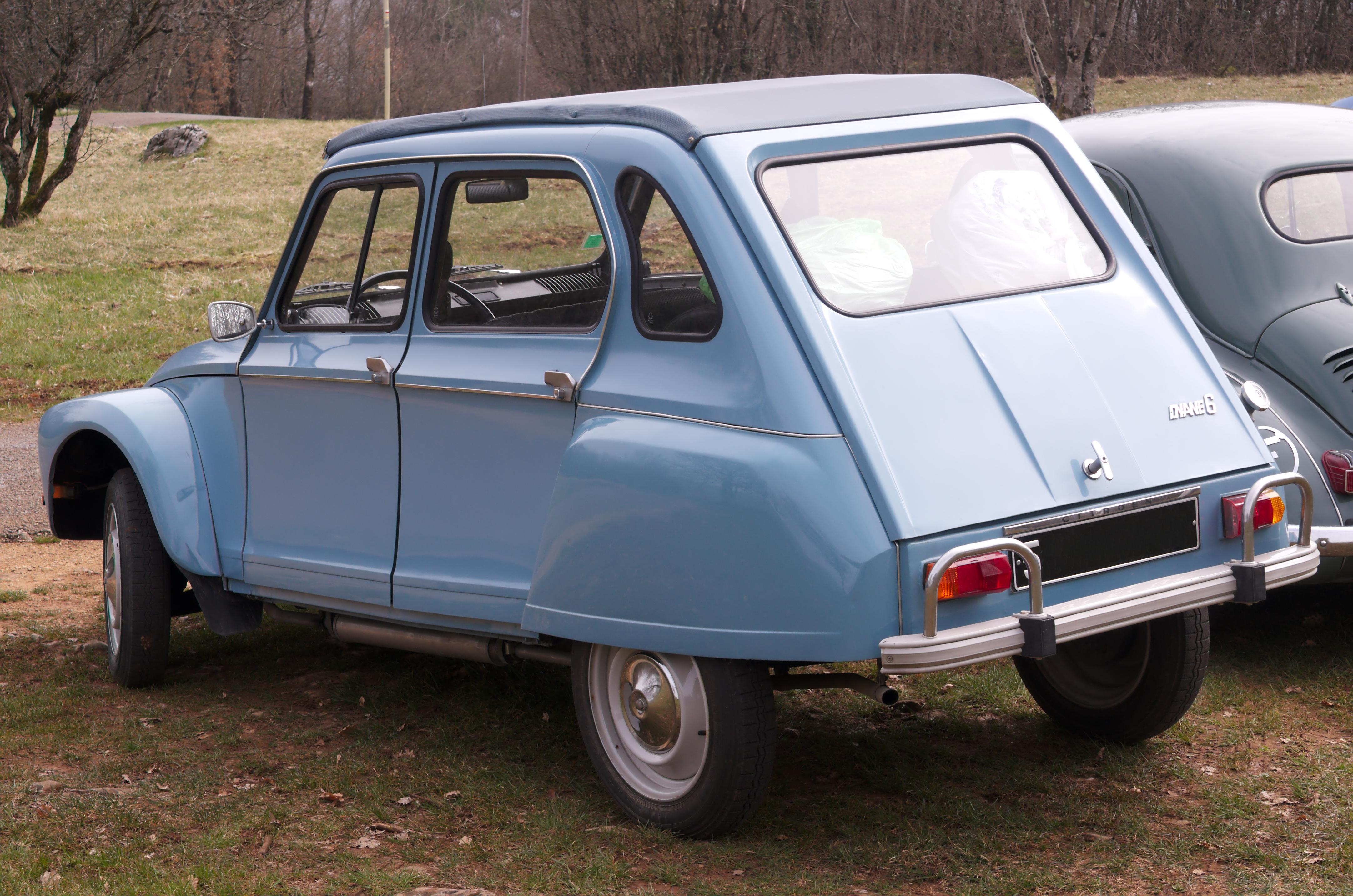 Citroen Dyane 1967 - 1984 Hatchback 5 door #6