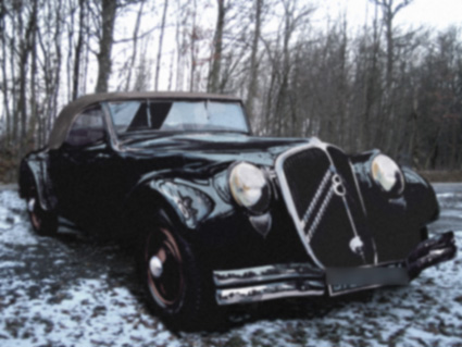 Citroen Traction Avant 1934 - 1957 Cabriolet #8