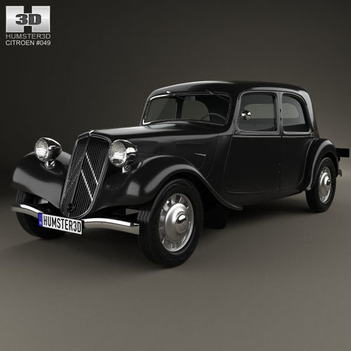 Citroen Traction Avant 1934 - 1957 Sedan #4