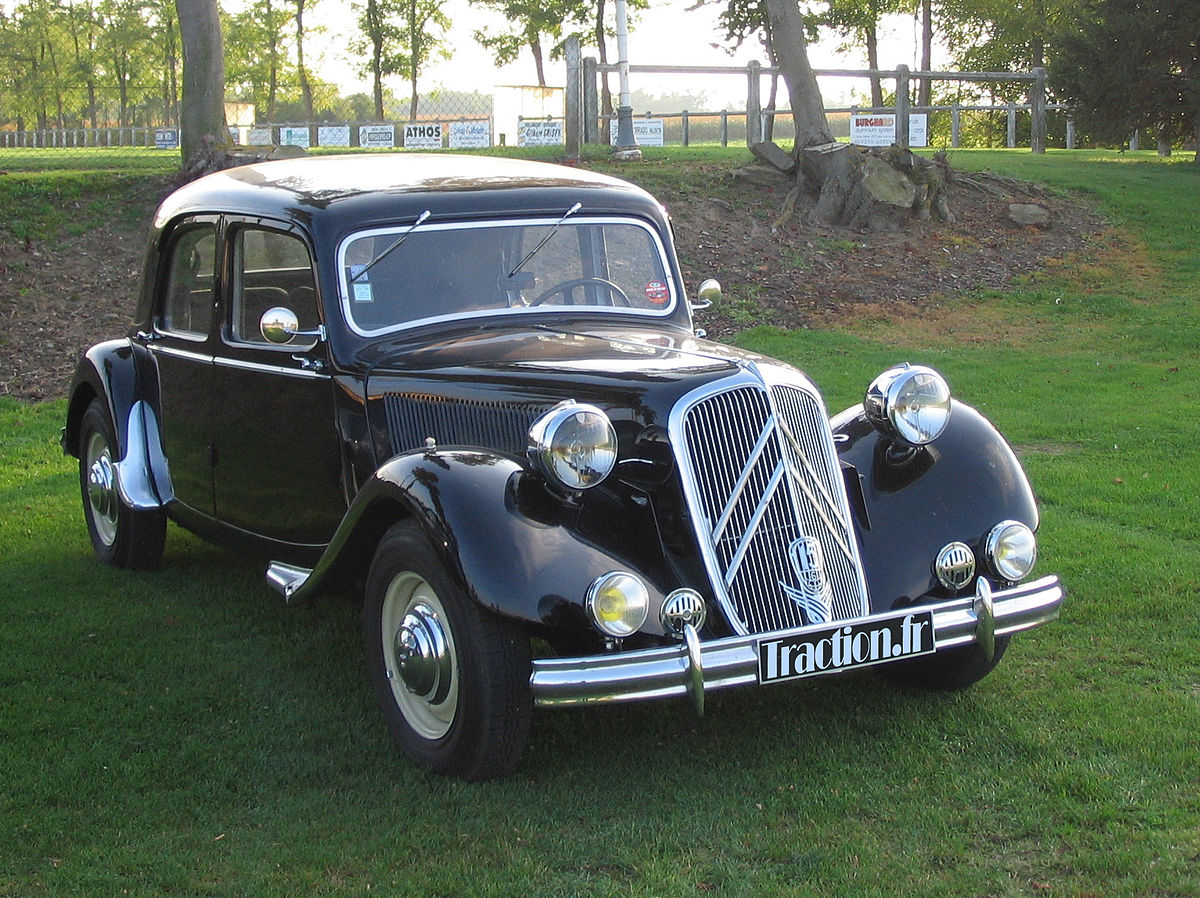 Citroen Traction Avant 1934 - 1957 Sedan #8