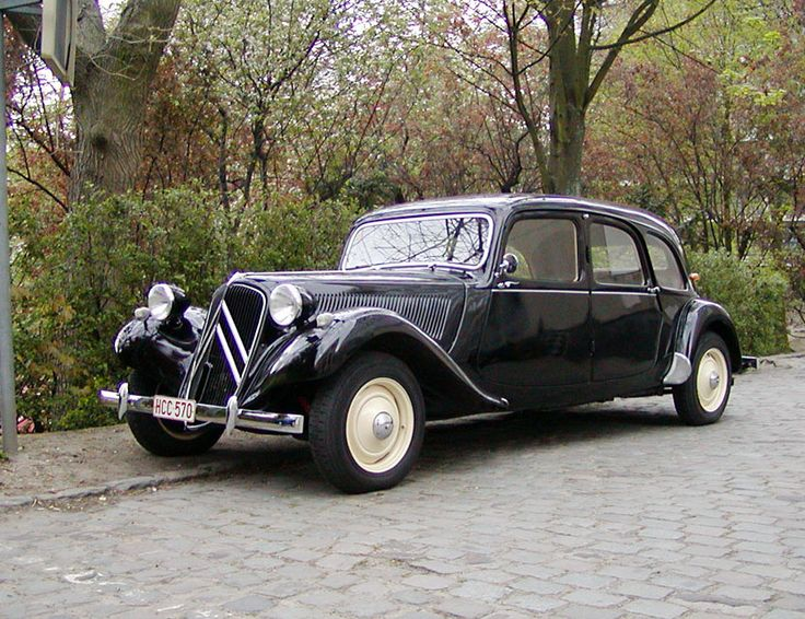 Citroen Traction Avant 1934 - 1957 Sedan #7