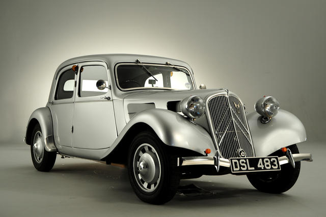 Citroen Traction Avant 1934 - 1957 Sedan #5