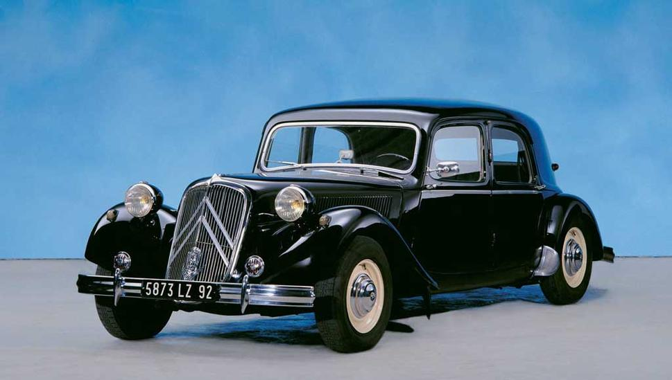 Citroen Traction Avant 1934 - 1957 Sedan #6