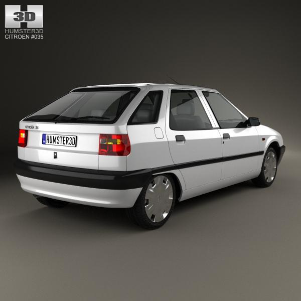 Citroen ZX 1991 - 1998 Hatchback 3 door #3