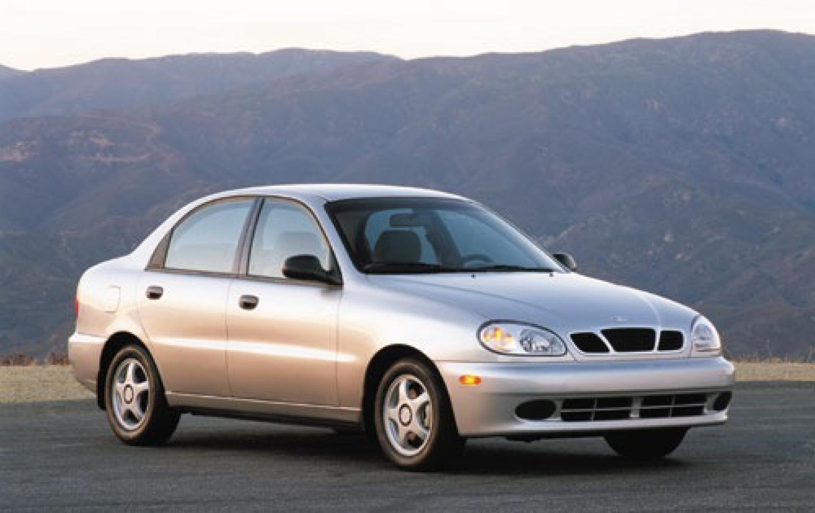 Daewoo Leganza 1997 - 2002 Sedan :: OUTSTANDING CARS