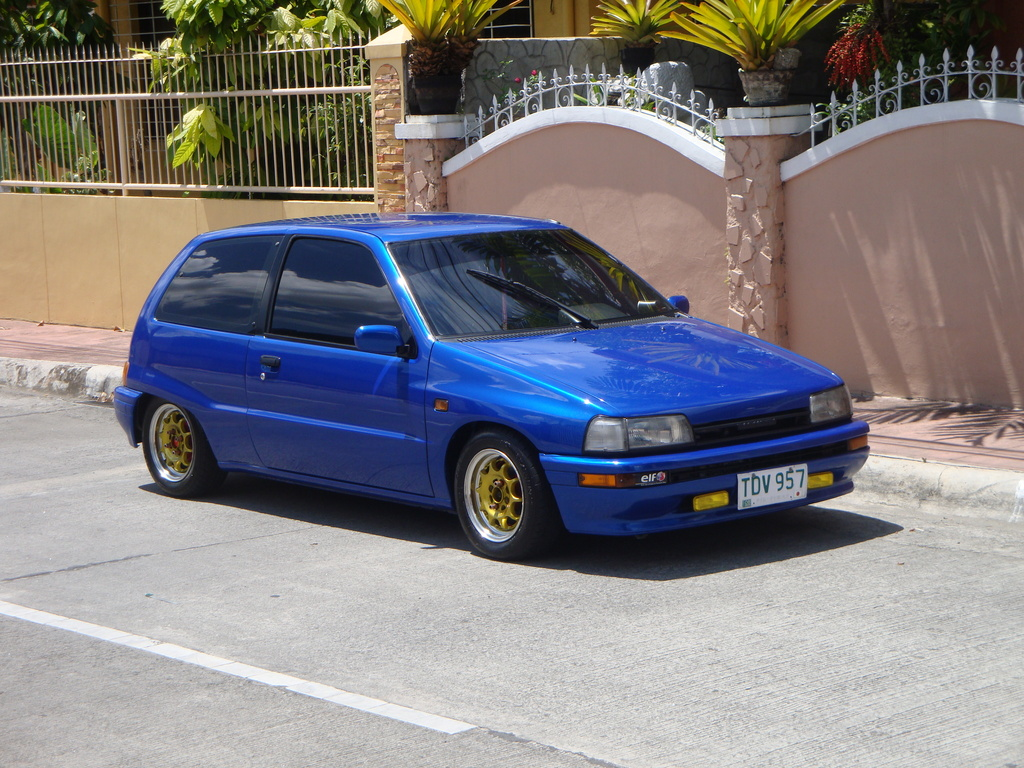 Daihatsu Applause I 1989 - 1997 Liftback #6
