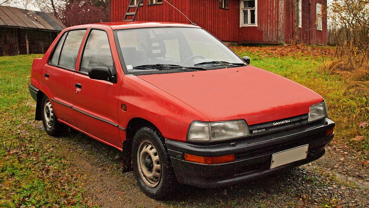Daihatsu Applause I 1989 - 1997 Liftback #7