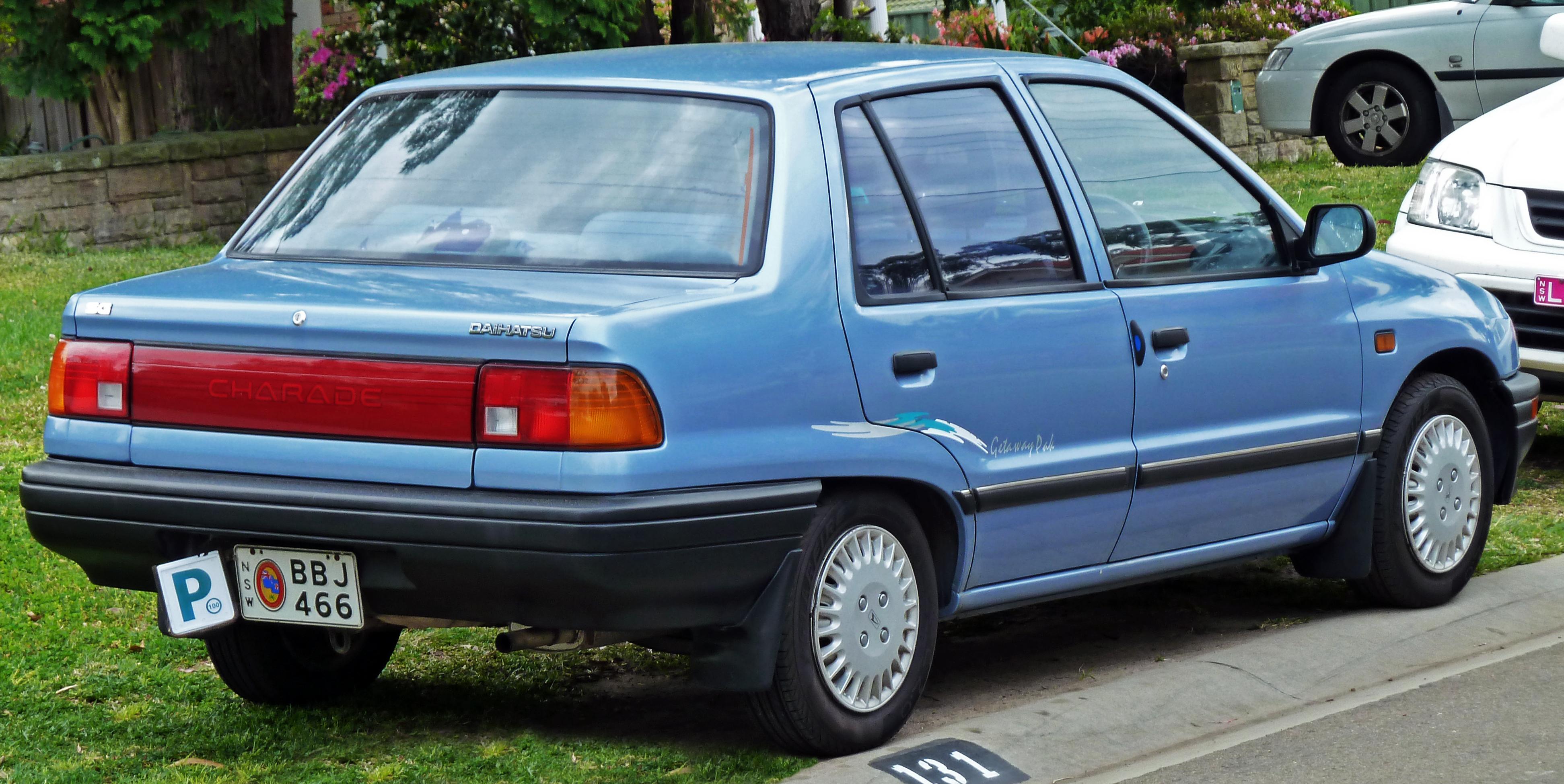 Daihatsu Applause I Restyling 1997 - 2000 Liftback #2