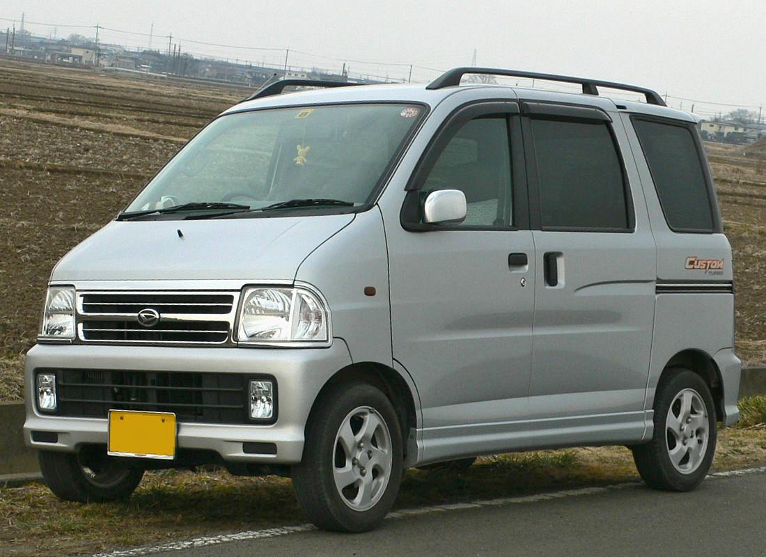 Daihatsu Atrai I 1999 - 2005 Microvan #8