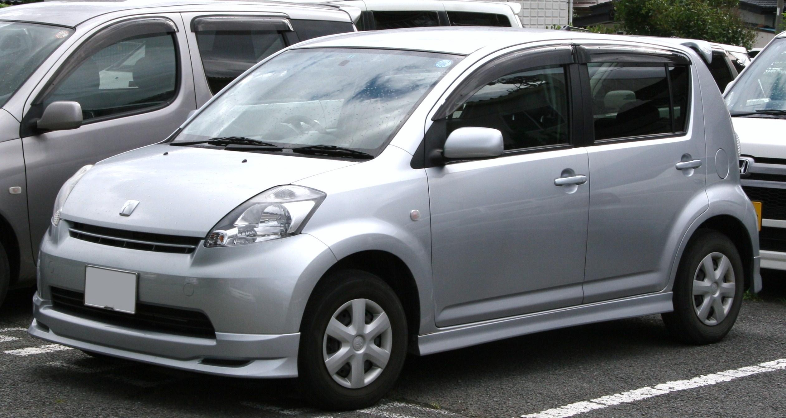 Toyota Passo I (C10) 2004 - 2010 Hatchback 5 door #8