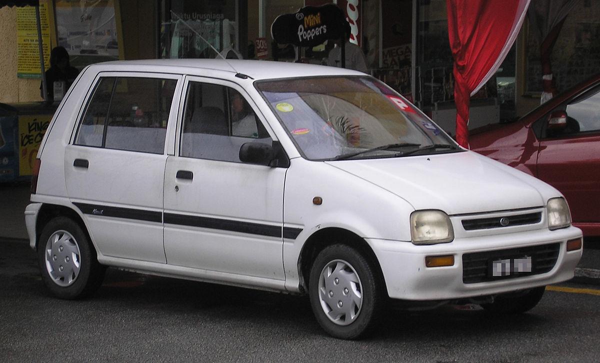 Daihatsu Mira IV 1994 - 1998 Hatchback 5 door #5