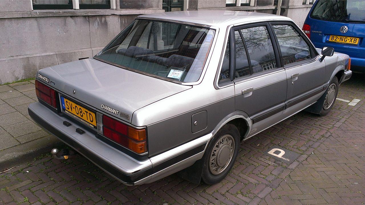 Daihatsu Charmant 1981 - 1987 Sedan #4