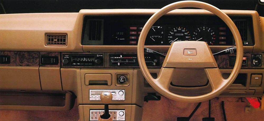 Daihatsu Charmant 1981 - 1987 Sedan #6