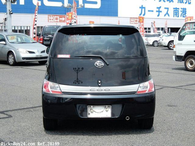 Daihatsu Coo 2006 - 2013 Microvan #4