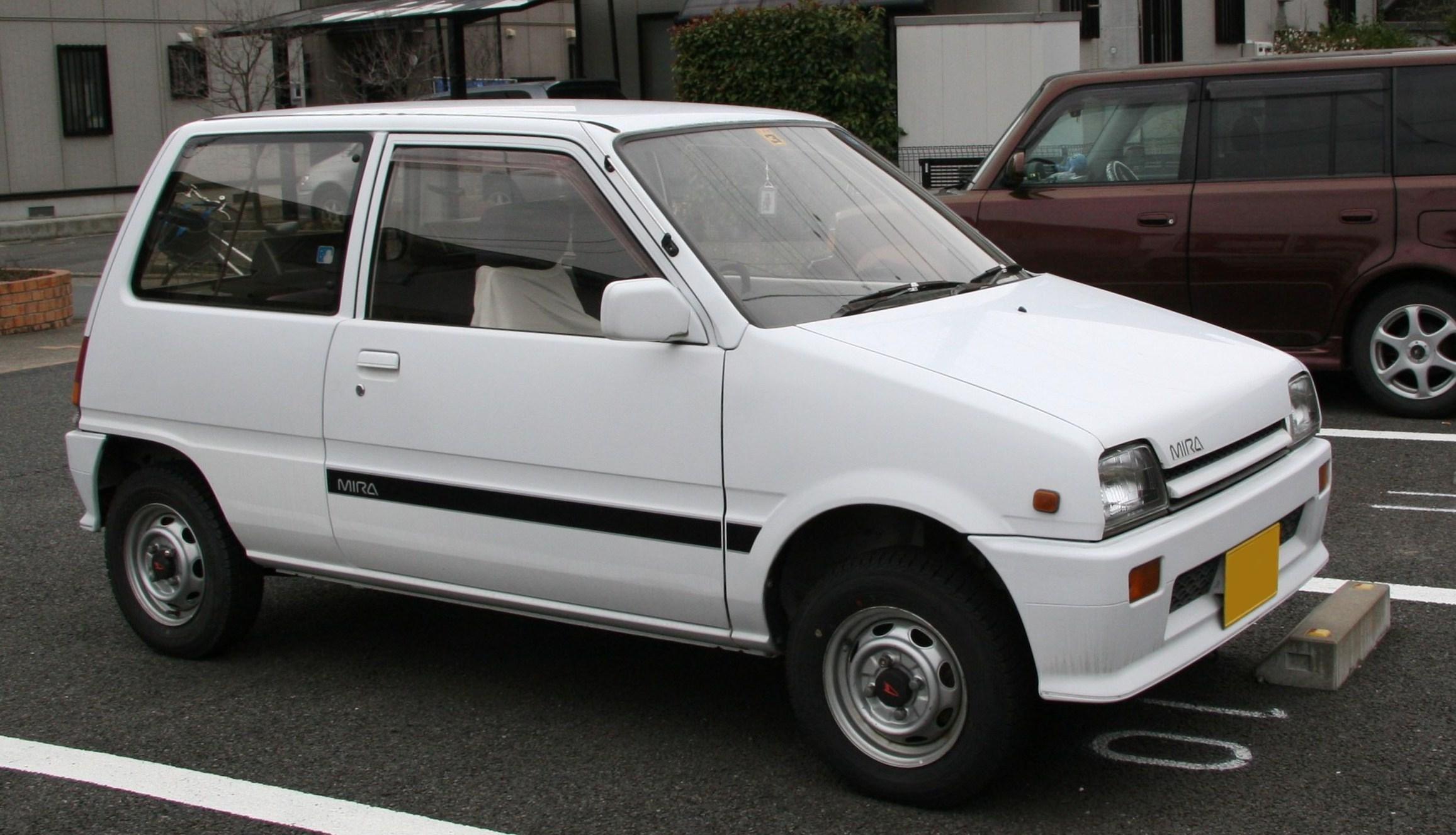 Daihatsu Leeza I 1986 - 1993 Cabriolet #1