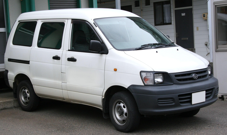 Daihatsu Delta Wagon III 1996 - 2001 Compact MPV #3