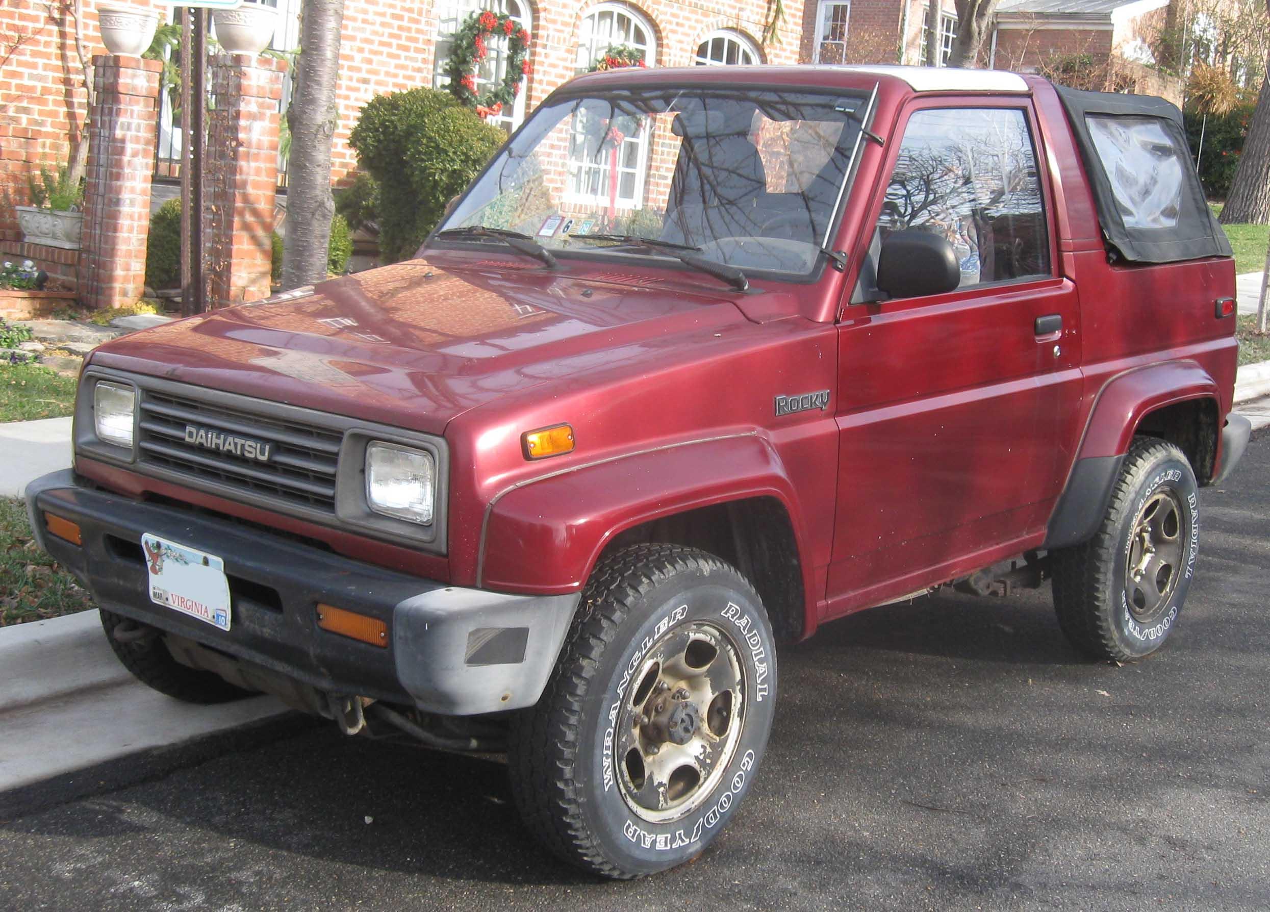 Daihatsu Rocky 1989 - 1998 SUV 3 door #5