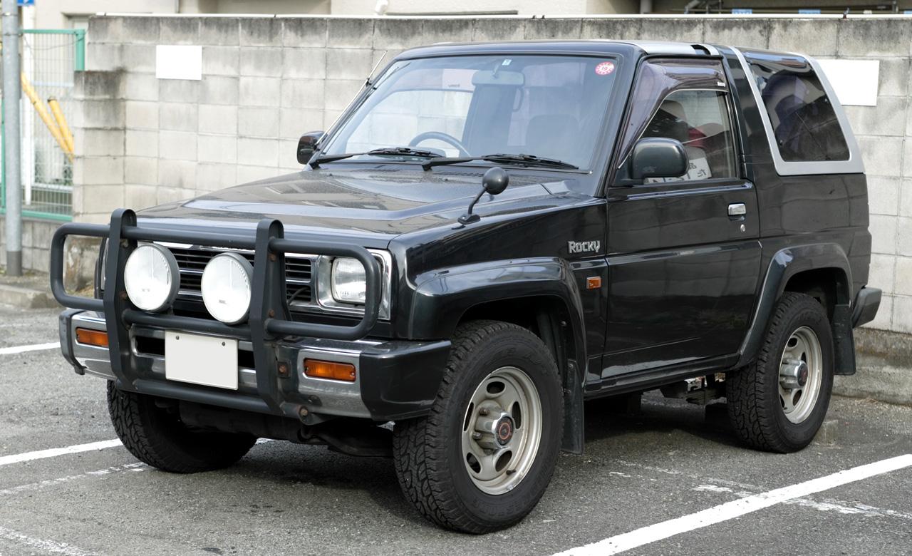 Daihatsu Rocky 1989 - 1998 SUV #7