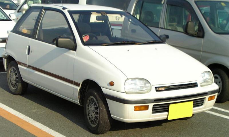 Daihatsu Leeza I 1986 - 1993 Cabriolet #5