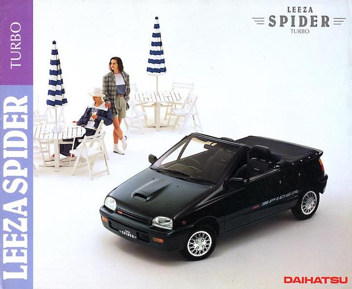 Daihatsu Leeza I 1986 - 1993 Cabriolet #3