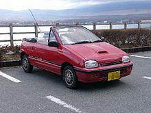Daihatsu Leeza I 1986 - 1993 Cabriolet #7
