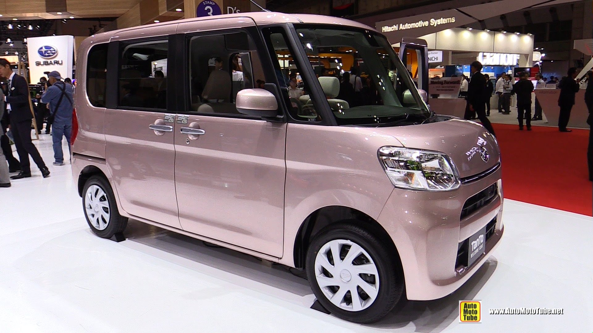Daihatsu Move Canbus I 2016 - now Microvan #6