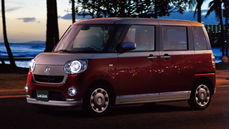 Daihatsu Move Canbus I 2016 - now Microvan #7