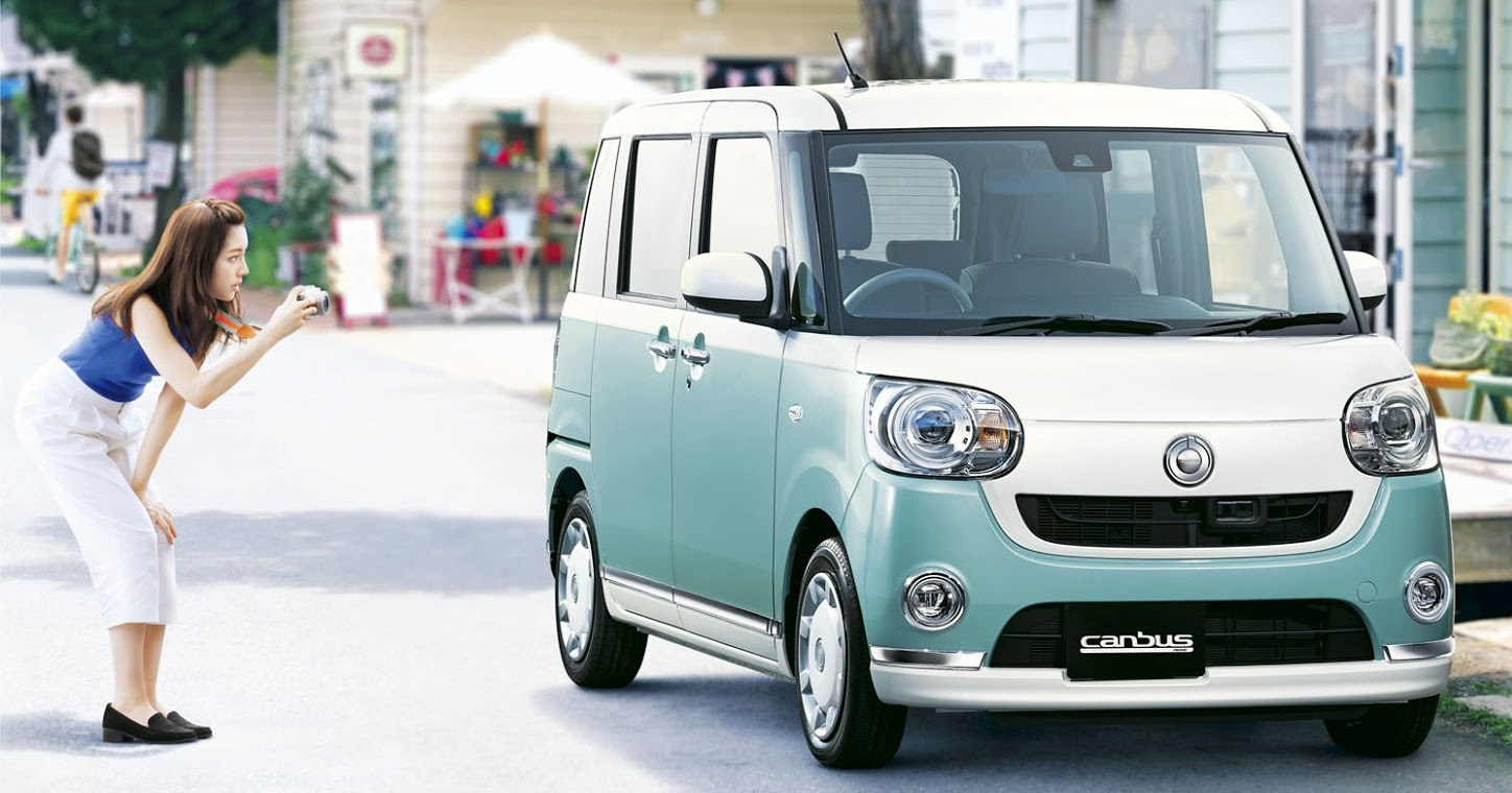 Daihatsu Move Canbus I 2016 - now Microvan #4