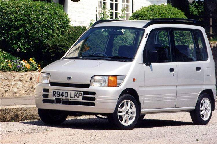 Daihatsu Move II 1998 - 2002 Microvan #7