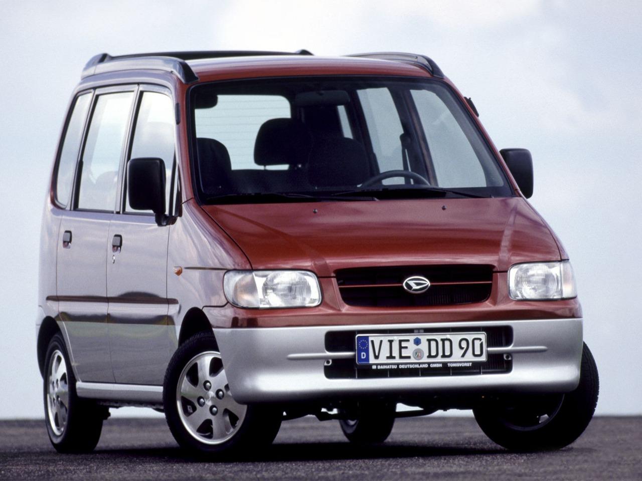Daihatsu Move II 1998 - 2002 Microvan #5