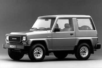 Daihatsu Rocky 1989 - 1998 SUV 3 door #7