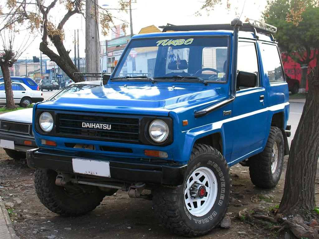 Daihatsu Rocky 1989 - 1998 SUV #2