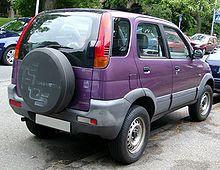 Daihatsu Terios I 1997 - 2012 SUV 5 door #3