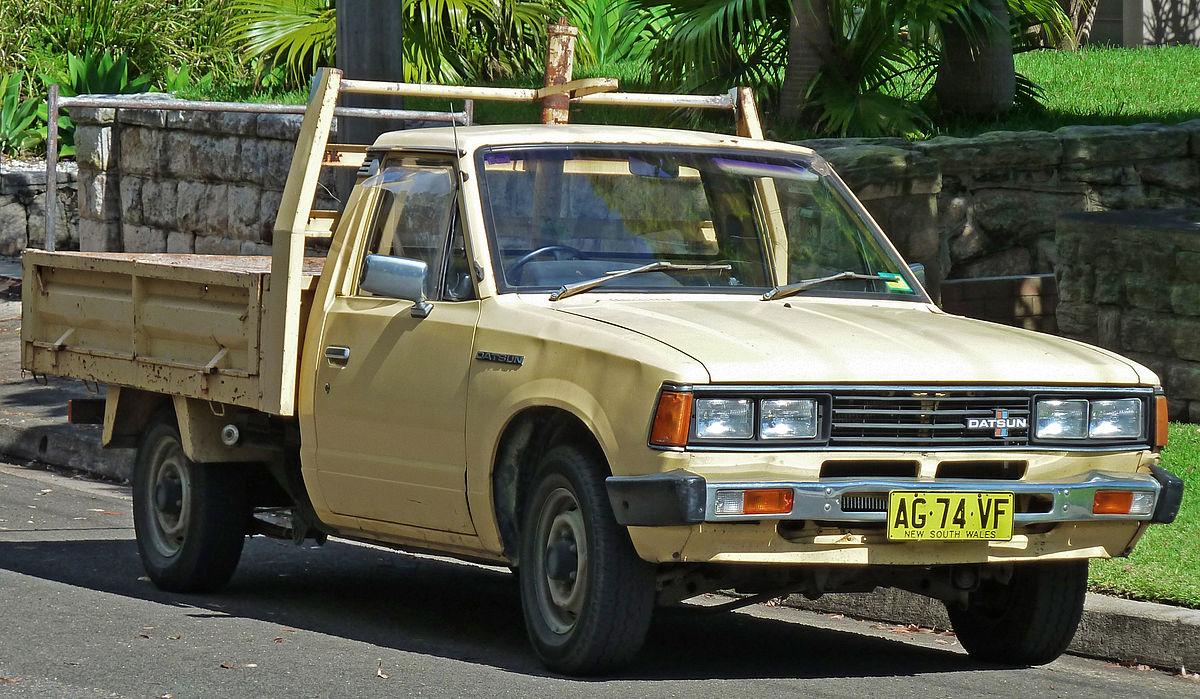 Nissan Navara (Frontier) I (D21) 1985 - 1997 Pickup #5