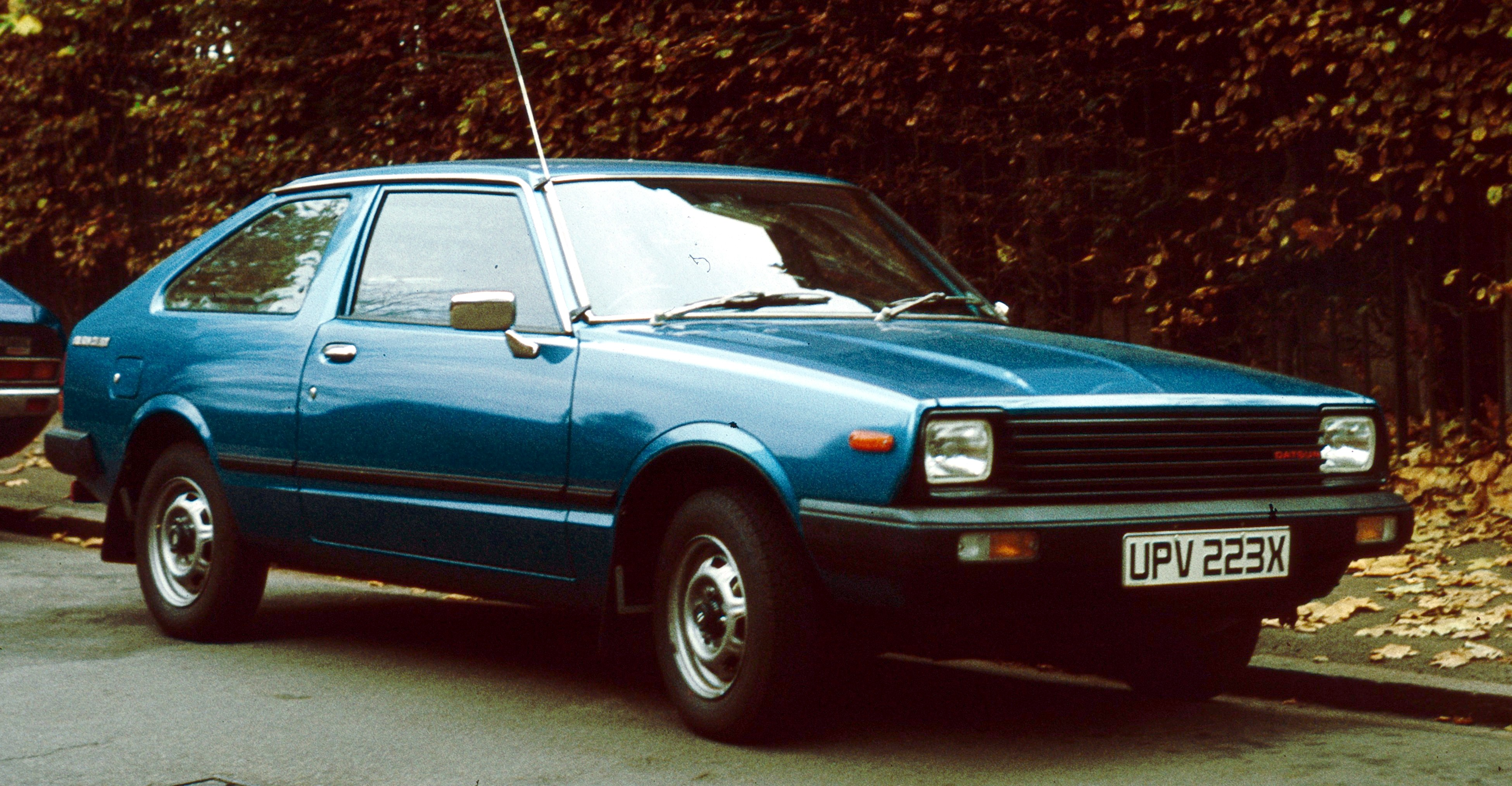 Nissan Pulsar II (N12) 1982 - 1986 Cabriolet #1