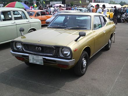 Datsun Cherry II 1974 - 1978 Coupe #4