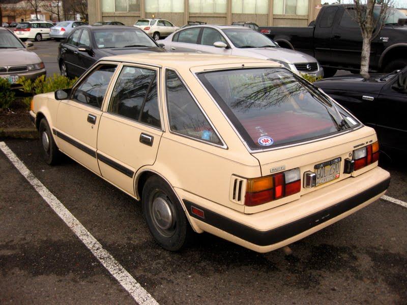 Datsun Stanza 1977 - 1981 Hatchback 5 door :: OUTSTANDING CARS