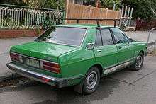 Datsun Stanza 1977 - 1981 Sedan #5