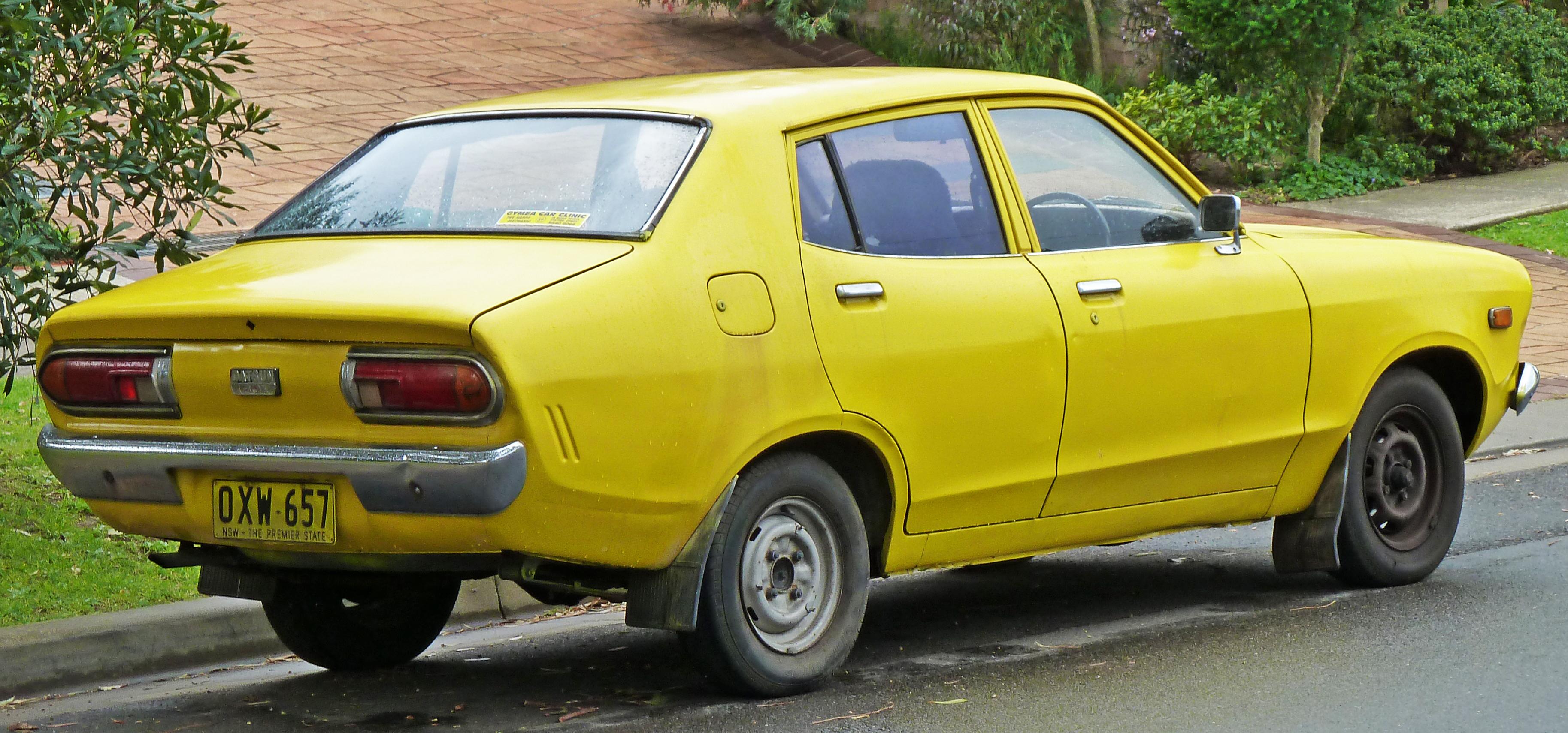 Datsun Sunny B210 1973 - 1983 Sedan #4