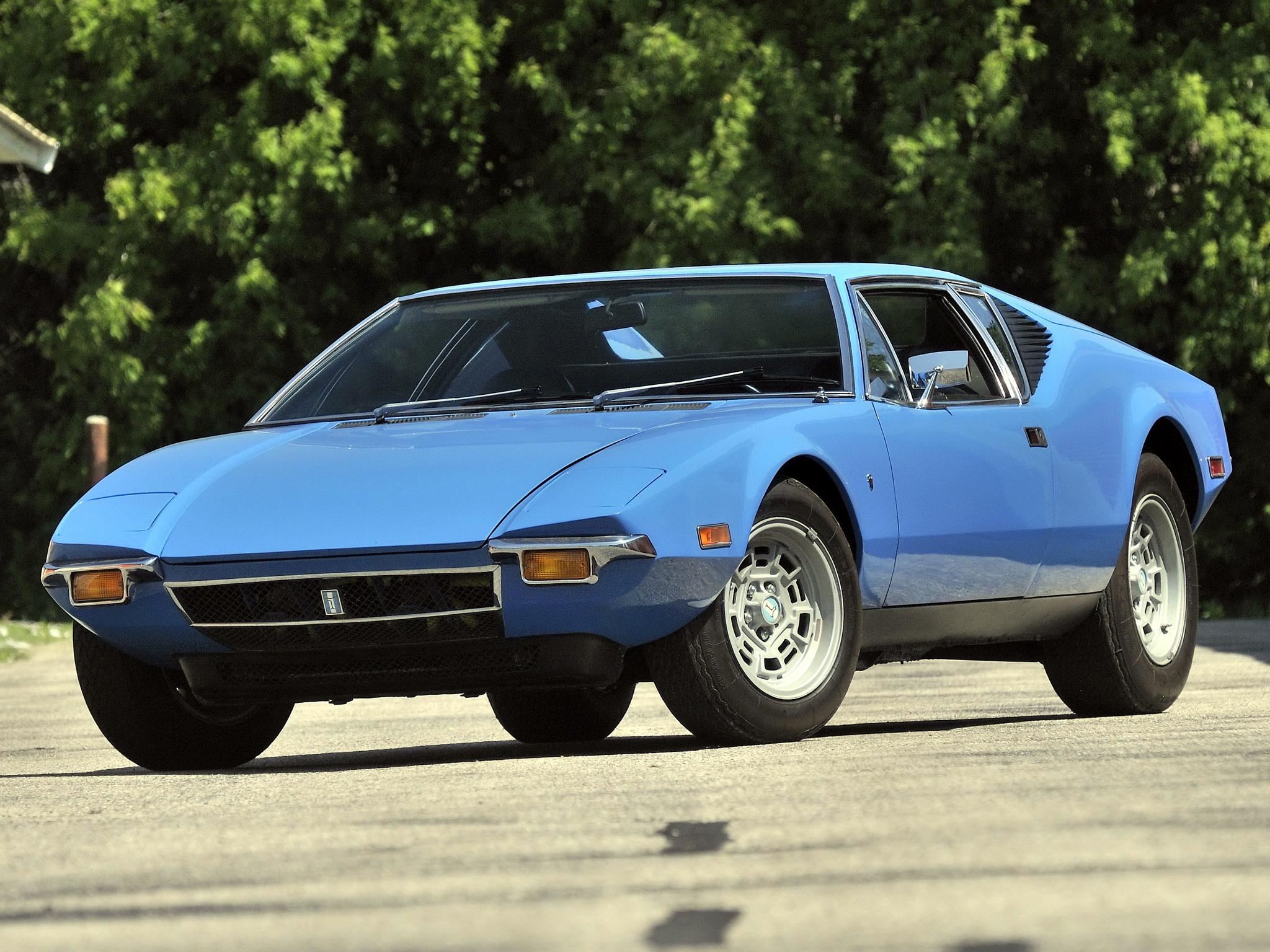 De Tomaso Pantera 1970 1991 Coupe OUTSTANDING CARS