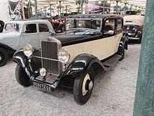 Delage D6 I 1930 - 1940 Sedan #7