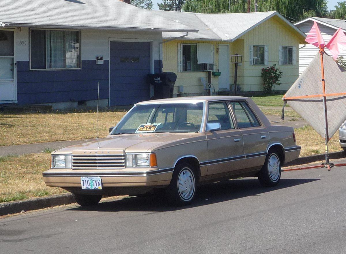 Dodge Aries 1981 1989 Sedan 2 Door Outstanding Cars 1980 Mirada Interior 3