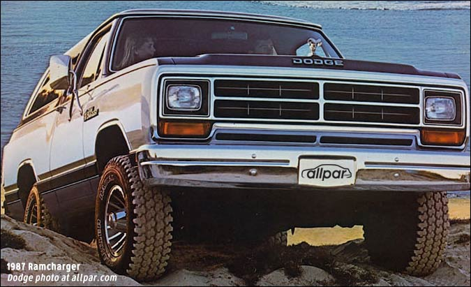 Dodge Ramcharger I 1974 - 1980 SUV 3 door :: OUTSTANDING CARS