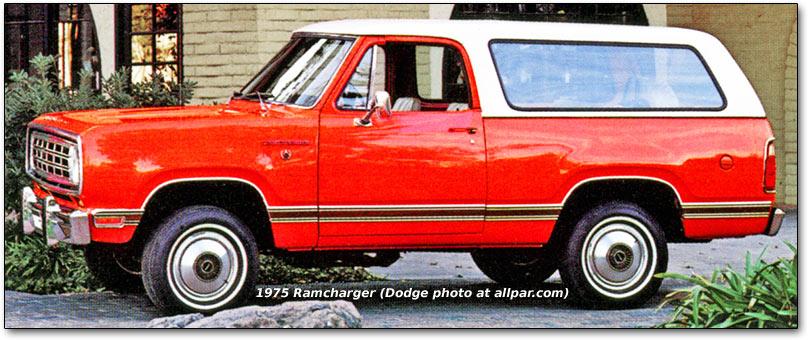 Dodge Ramcharger I 1974 - 1980 SUV 3 door :: OUTSTANDING CARS