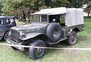 Dodge WC series T207 1941 - 1942 SUV #7