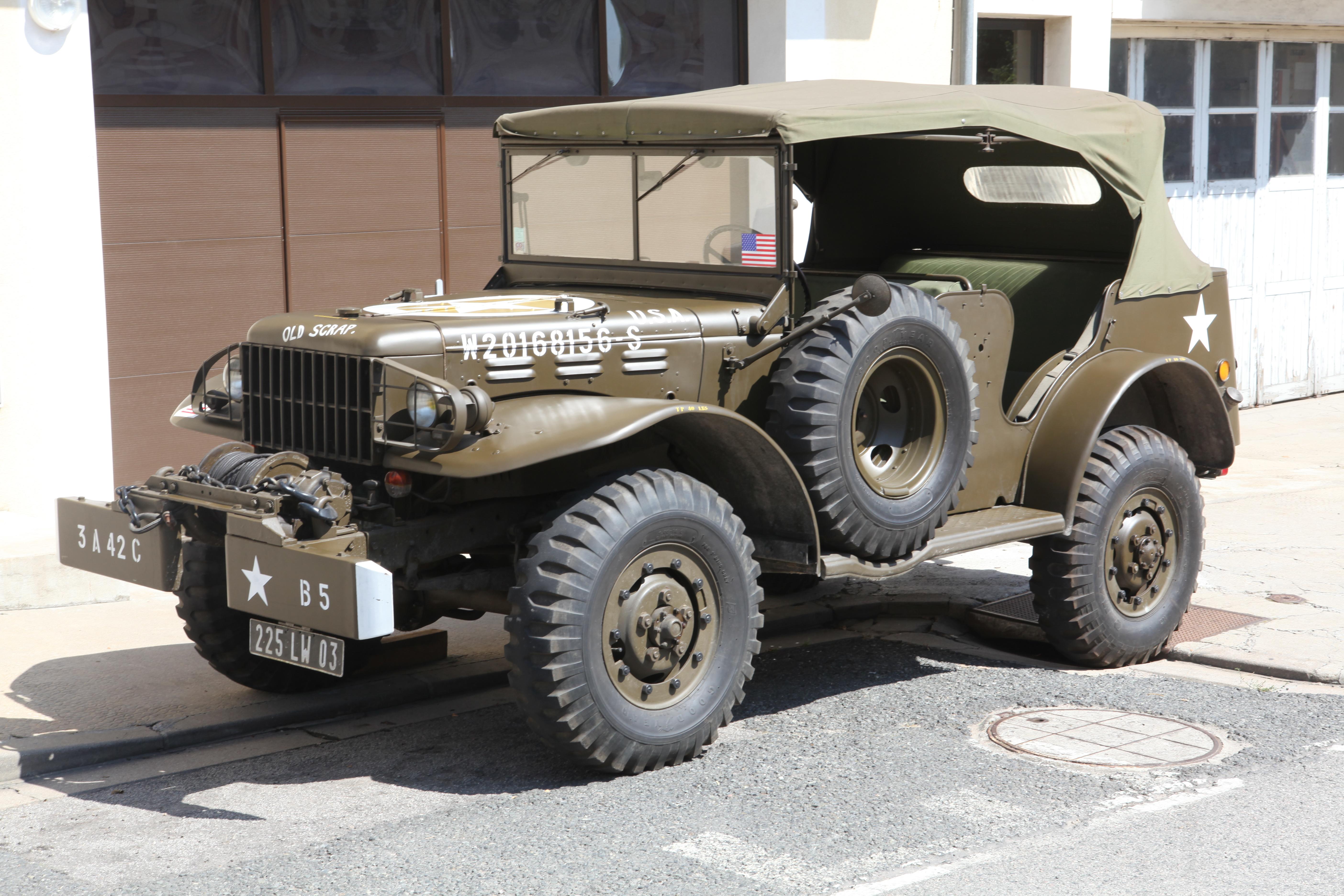 Dodge WC series T207 1941 - 1942 SUV #3