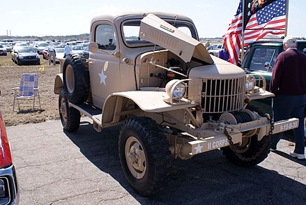 Dodge WC series T207 1941 - 1942 SUV #1