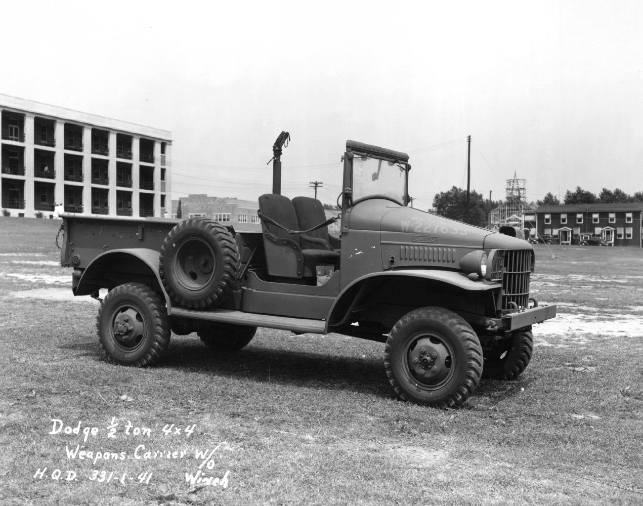 Dodge WC series T207 1941 - 1942 SUV #4